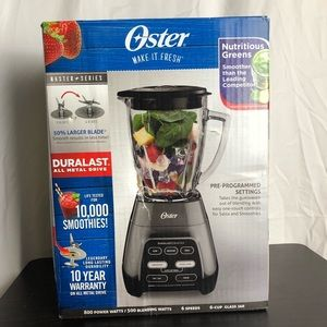 Oster Master Series Electric Blender New